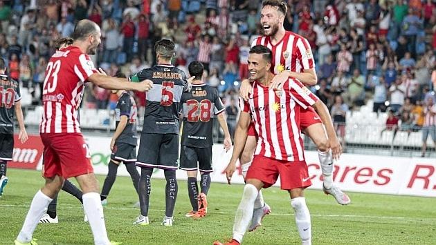 Dónde ver el partido de fútbol Almería Córdoba 17 enero