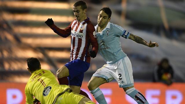 Dónde ver el partido de fútbol Atlético Celta 27 enero