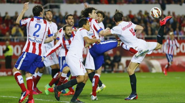 Dónde ver el partido de fútbol Atlético Sevilla 24 enero