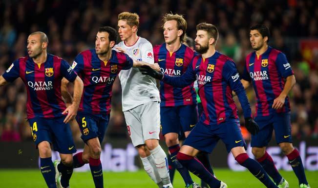 Previo del Barcelona vs Atlético de Madrid por internet