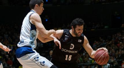ver online Dominion Bilbao Basket - Río Natura Monbús Obradoiro