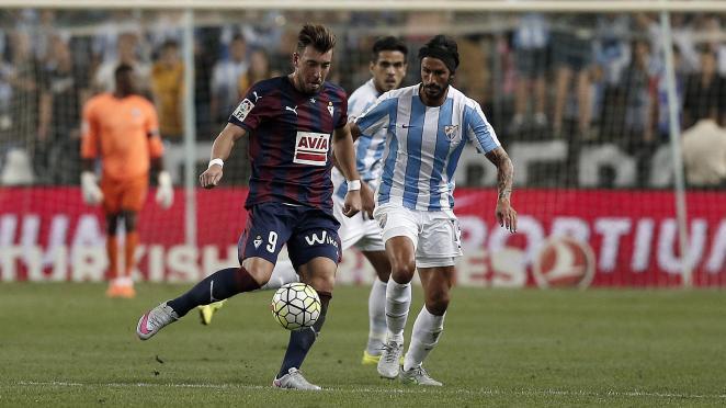 Dónde ver el partido de fútbol Eibar Málaga 30 enero