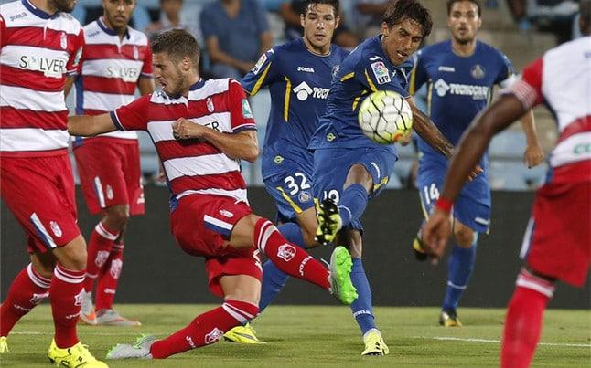 Dónde ver el partido de fútbol Granada Getafe 23 enero