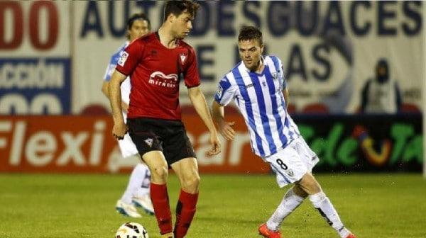 Dónde ver el partido de fútbol Leganés Mirandés 17 enero