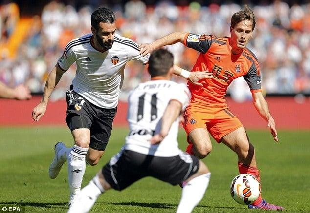 Dónde ver el partido de fútbol Real Sociedad Valencia 10 enero