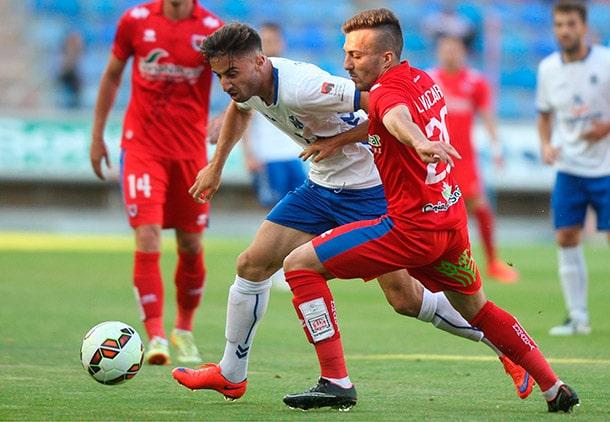 Dónde ver el partido de fútbol Tenerife Numancia 24 enero