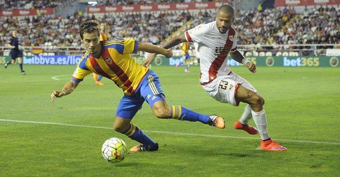 Dónde ver el partido de fútbol Valencia Rayo 17 enero