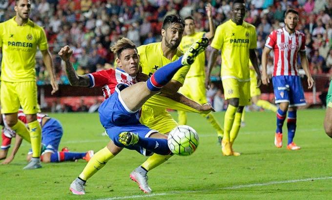 Dónde ver el partido de fútbol Villarreal Sporting 10 enero