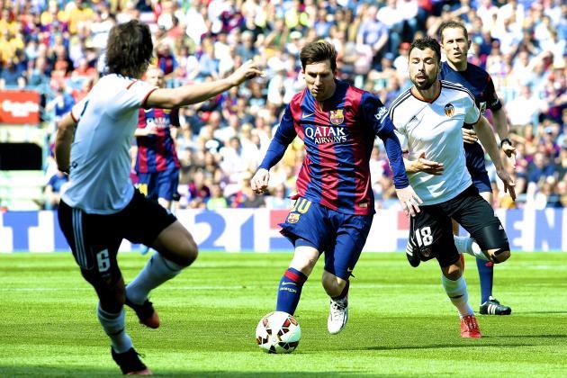 Dónde ver el partido de fútbol Barcelona Valencia 3 febrero