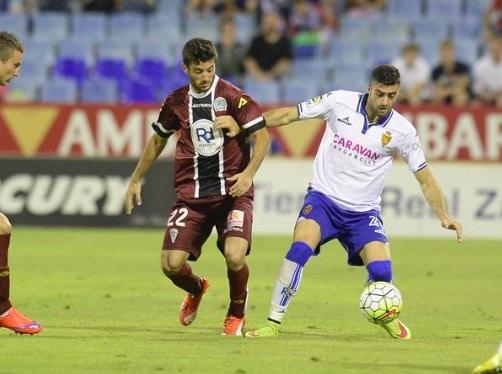 Dónde ver el partido de fútbol Córdoba Zaragoza 14 febrero