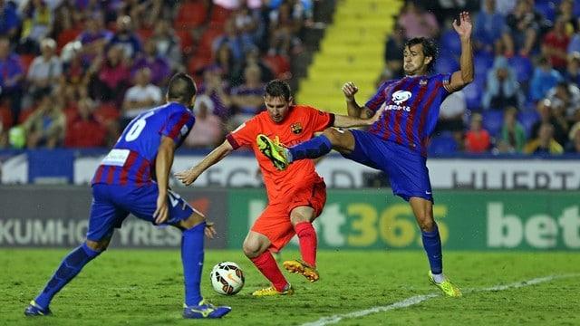 Dónde ver el partido de fútbol Levante Barcelona 7 febrero