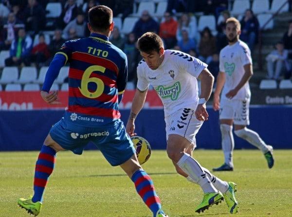 Dónde ver el partido de fútbol Llagostera Albacete 14 febrero
