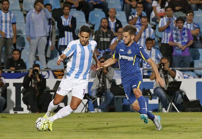 Dónde ver el partido de fútbol Málaga Getafe 5 febrero