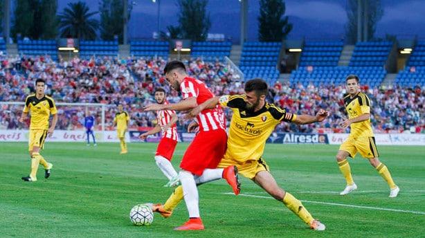Dónde ver el partido de fútbol Osasuna Almería 7 febrero