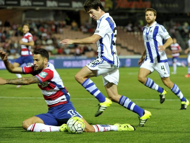 Dónde ver el partido de fútbol Real Sociedad Granada 14 febrero