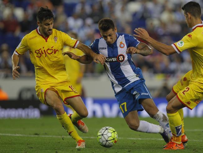 Dónde ver el partido de fútbol Sporting Espanyol 27 febrero