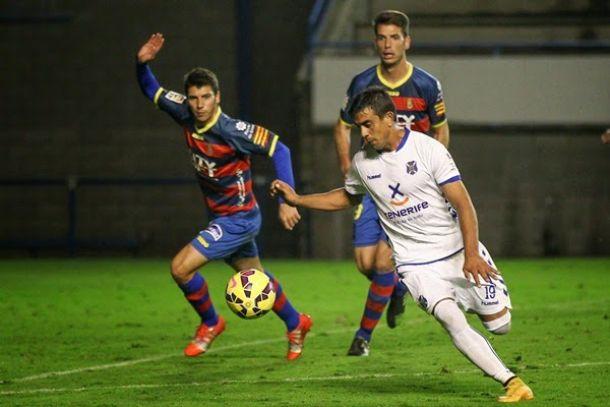 Dónde ver el partido de fútbol Tenerife Llagostera 21 febrero