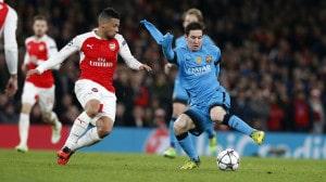 Dónde ver el partido de fútbol Barcelona Arsenal 16 marzo