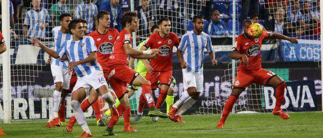 Dónde ver el partido de fútbol Deportivo Málaga 5 marzo