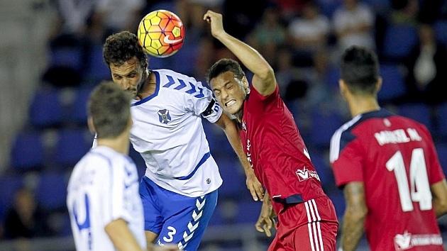 Dónde ver el partido de fútbol Osasuna Tenerife 26 marzo