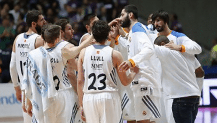 Ver partido baloncesto Real Madrid vs MoraBanc