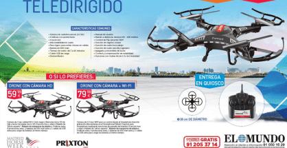 promocion dron el mundo