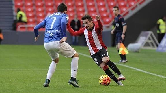 Dónde ver el partido de fútbol Almería Bilbao Athletic 24 abril
