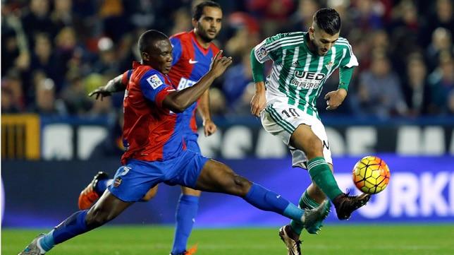 Dónde ver el partido de fútbol Betis Levante 9 abril