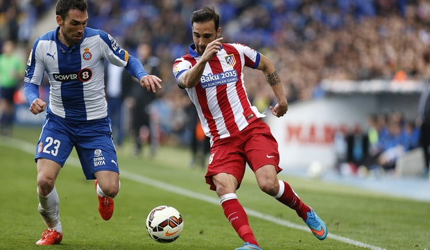 Dónde ver el partido de fútbol Espanyol Atlético 9 abril