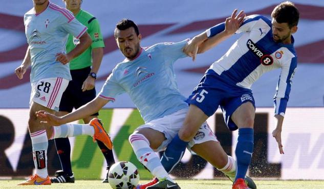 Dónde ver el partido de fútbol Espanyol Celta 19 abrl