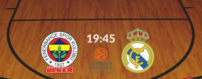 Fenerbahce – Real Madrid online gratis