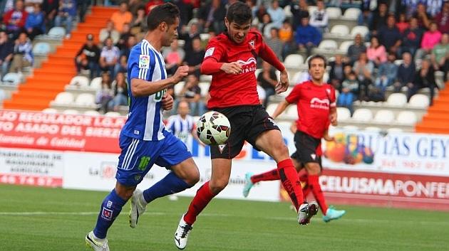Dónde ver el partido de fútbol Mirandés Ponferradina 9 abril
