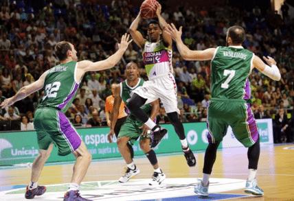 Ver en directo baloncesto: Movistar Estudiantes - Unicaja Málaga