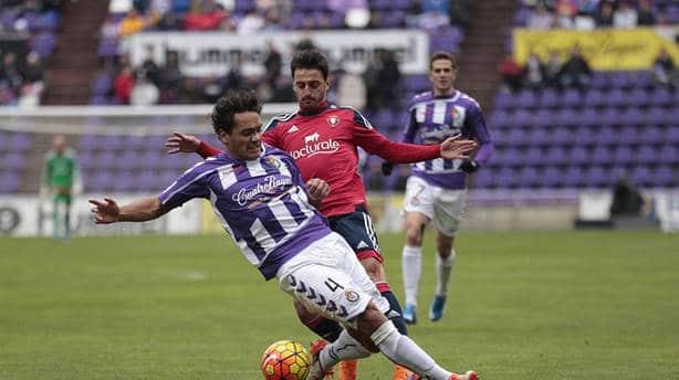 Dónde ver el partido de fútbol Osasuna Valladolid 24 abril
