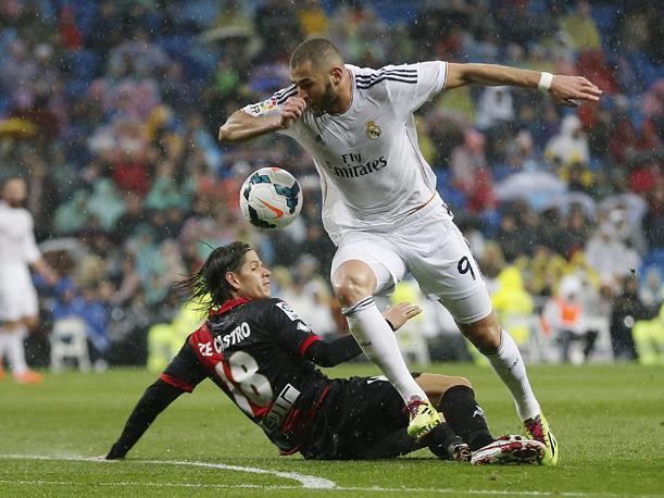 Dónde ver el partido de fútbol Rayo Real Madrid 23 abril