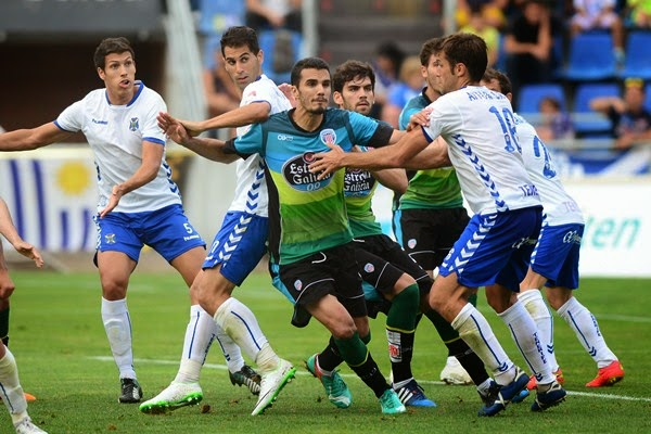 Dónde ver el partido de fútbol Tenerife Lugo 3 abril