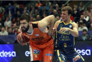 Valencia Basket Club - Sevilla Baloncesto en directo