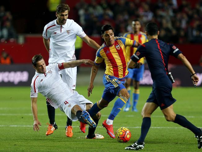 Dónde ver el partido de fútbol Valencia Sevilla 10 abril