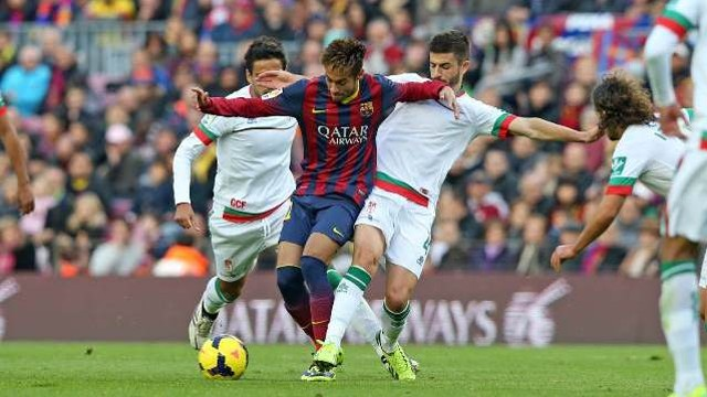 Dónde ver el partido de fútbol Granada Barcelona 14 mayo