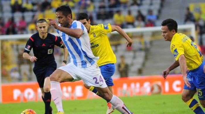 Dónde ver el partido de fútbol Málaga Las Palmas 15 mayo