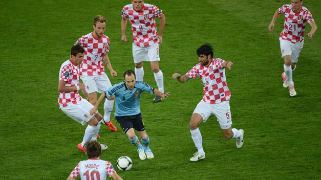 Dónde ver el partido de fútbol Croacia España 21 junio