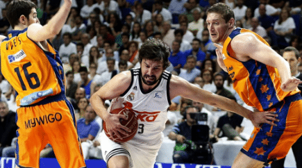 Real Madrid - Valencia Basket gratis