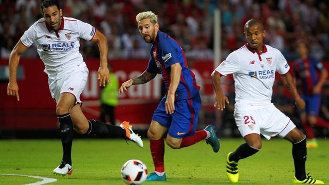 Dónde ver el partido de fútbol Barcelona Sevilla 17 agosto