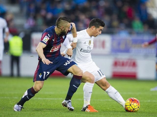Dónde ver el partido de fútbol Real Madrid Eibar 2 octubre