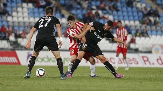 Dónde ver el partido de fútbol Almería Nástic 23 octubre