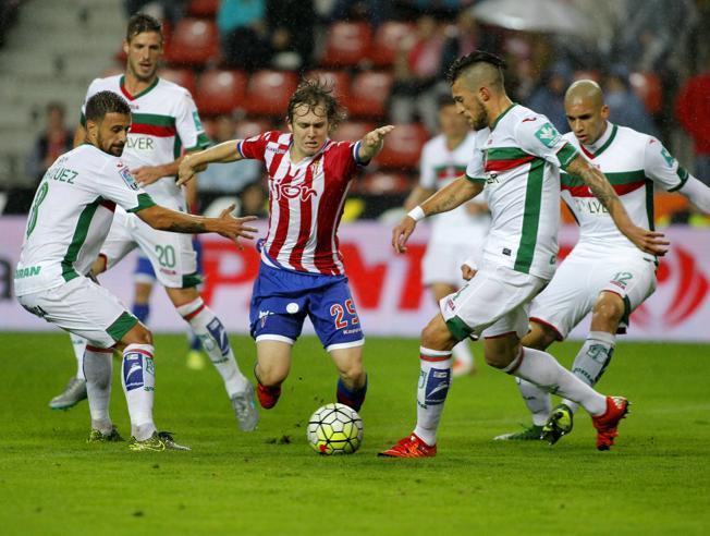 Dónde ver el partido de fútbol Granada Sporting 22 octubre