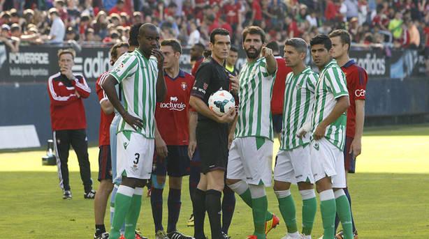 Dónde ver el partido de fútbol Osasuna Betis 21 octubre
