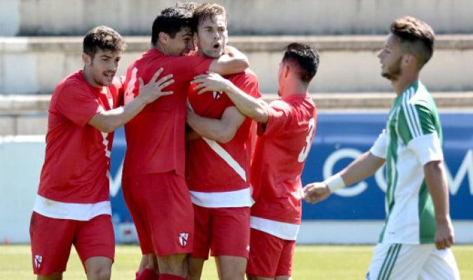 Dónde ver el partido de fútbol Sevilla Atlético Zaragoza 8 octubre
