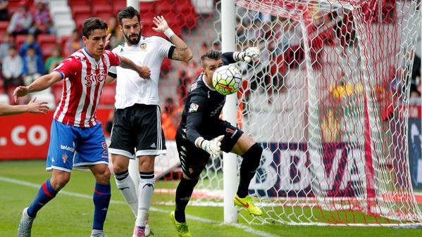 Dónde ver el partido de fútbol Sporting Valencia 17 octubre