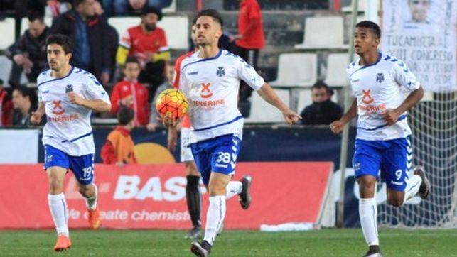 Dónde ver el partido de fútbol Tenerife Cádiz 16 octubre